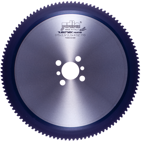 TCT HM P.V.D. Coated circular saw blade for cutting tubes